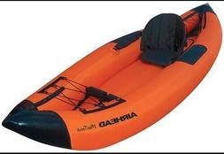 AIRHEAD 1 PADDLER PERFORMANCE TRAVEL INFLATABLE KAYAK 1 PERS