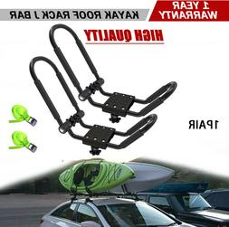 Folding Canoe Boat Kayak Roof Rack Car SUV Truck Top Mount C