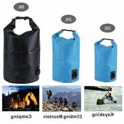 10/20/30L KastKing Waterproof Dry Bag Roll Top Dry Gear Bag