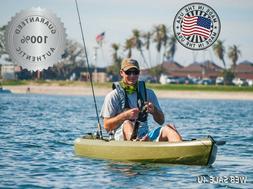 10 ft Kayak Sit On Top Fishing Lake River w Paddle Canoe SOT