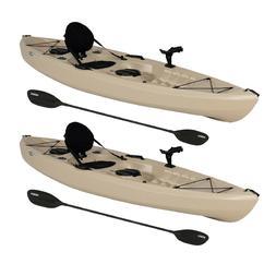 Lifetime 10' Tamarack Angler Kayak, Sit On Top Fishing -