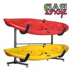 1006 Rad Sportz  Freestanding Heavy Duty Kayak Rack Two Kaya