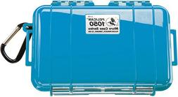 Pelican 1050 Blue Micro Case with Blue Solid Lid and Carabin