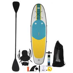 Blue Water Toys 10' Inflatable Stand Up Paddle Board and Kay
