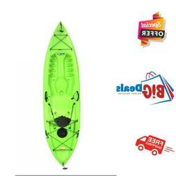 Lifetime 10ft. Tioga 100 Kayak, Sit On Top w/ Paddle - Lime