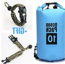 10L Dry Compression Waterproof Bag Keeps Equipment Dry For S