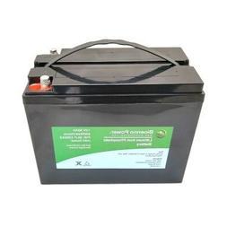 Bioenno Power 12V, 50Ah LiFePO4 Battery