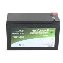 Bioenno Power 12V, 9Ah LiFePO4 Battery