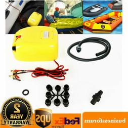 Best 12V Electric Pressure Air Pump For Inflatable Boats Raf