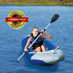 Ozark Trail 13686 1-Person Bolt Inflatable Kayak with Dual-B