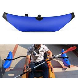 1PCS Kayak PVC Inflatable Outrigger Kayak Canoe Fishing Boat