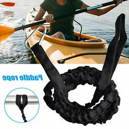 1pcs Rowing Boat Elastic Paddle Leash Kayak Accessories Kaya