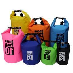 2 20l waterproof dry bag backpack rucksack