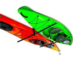 2 Kayak Ceiling Rack   Hi-Port 2 Storage Hanger Overhead Mou