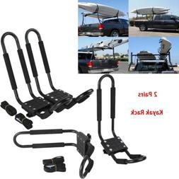 2 Pair Canoe Boat Kayak Roof Rack Car SUV Truck Top Mount Ca