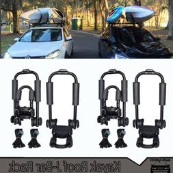 2 Pair Canoe Boat Kayak Roof Rack Car SUV Truck Top Mount Ca