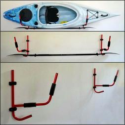 2 pair kayak rack wall mount ladder