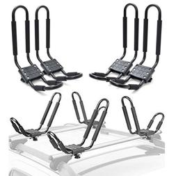 2 pair universal kayak roof rack