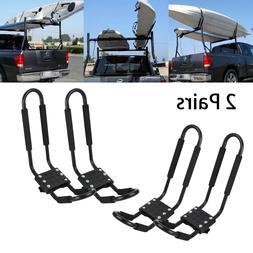 2 pairs Canoe Boat Kayak Roof Rack Car SUV Truck Top Mount C