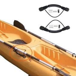 2 Side Mount Handles Kayak Canoe Raft Boat Bungee Carry Hand