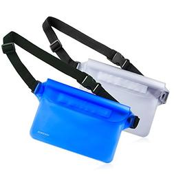 2 waterproof document holder case wallet camera pouch Cover