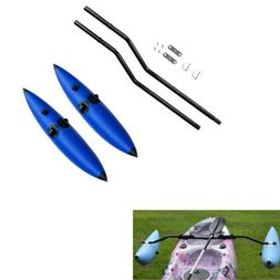 2 x PVC Inflatable Outrigger Stabilizer &  Ama Kit for Kayak