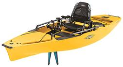 New 2017 Hobie Pro Angler 12 Fishing Kayak Yellow 180 Revers