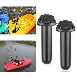 2018 Plastic Flush Mount Fishing Rod Holder Cap Gasket Kayak