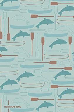 2019 planner daily weekly monthly organizer canoe kayak fish
