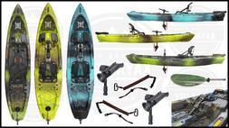 2020 Perception Pescador Pilot - Pedal Fishing Kayak   FREE