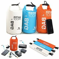 2L/ 5L Waterproof Dry Bag Sack Pouch Boating Kayaking Campin