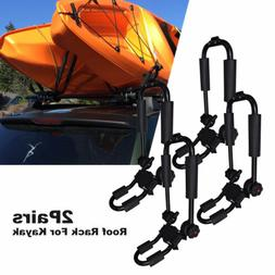 2Pair Universal Kayak Roof Rack For SUV Car Top Mount Carrie
