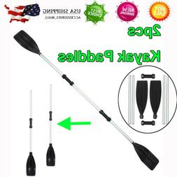 "210cm/82"" Boat Oars Double-ended Kayak Paddles Float Raft Ca"