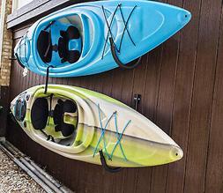 2pcs Canoe Paddle Kayak Accessories Wall Mount Hanging Hooks