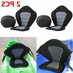 2PCS Heavy Duty Deluxe Padded Kayak Seat 600D Polyester & Ne
