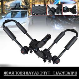 2Pieces Kayak Carrier for Car Roof Rack Bars Universal Fit o