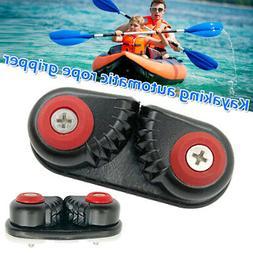 2x Canoe Kayak Aluminum Cam Cleat Accessories Sailing Inflat
