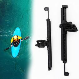 2x Kayak Canoe Boat Rudder Control Footrest Foot Braces Peg