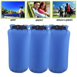 3 Pack Sports Waterproof Dry Bag Backpack Beach Kayak Floati