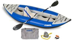 Sea Eagle 300X Deluxe Package Explorer Kayak Class 4 Whitewa