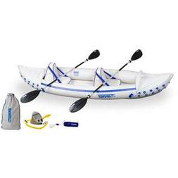 SEA EAGLE 330 Professional 2 Person Inflatable Kayak Canoe w