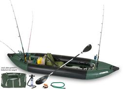 SEA EAGLE 350fx DELUXE SOLO EXPLORER FISHING PACKAGE INFLATA