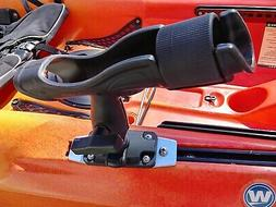 "360 Rod Holder with 1.5"" Ball for Vibe & Field & Stream Kaya"