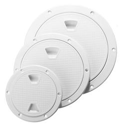 4/6/8 Inch Round Hatch Cover Non-Slip Deck Plate for Marine
