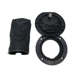 4 Inch Hatch Cover Deck Plate Kit With Black Storage Bag For