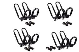 TMS 4 SETS ~ J-Bar Rack HD Kayak Carrier Canoe Boat Surf Ski