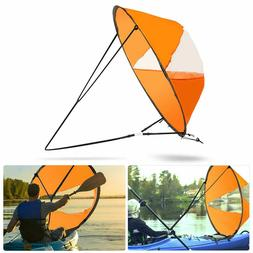 "42.5"" Foldable Downwind Wind Paddle Popup Board For Canoe Ka"