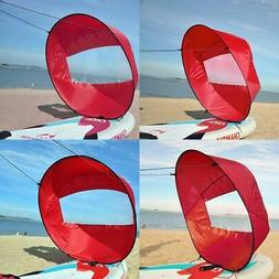 42 Inch Foldable Kayak Wind Paddle Board Sail With Clear Win