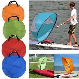 """42"""" Kayak Boat Wind Sail Sup Sailboat Paddle Board Sailing W"""