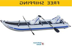 Sea Eagle 435PS 14ft Inflatable Catamaran Kayak Incl Seats O